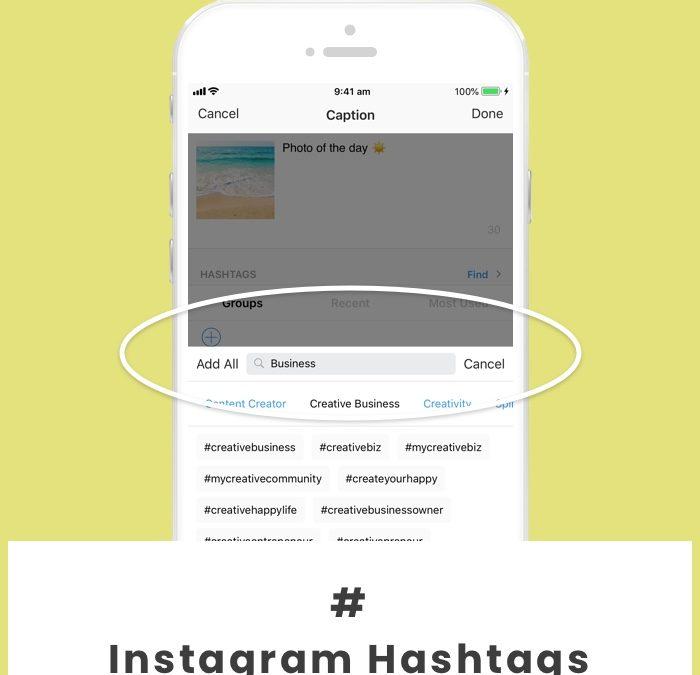 Hashtag instagram pour le business et les entrepreneurs